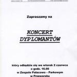 Koncert dyplomantow
