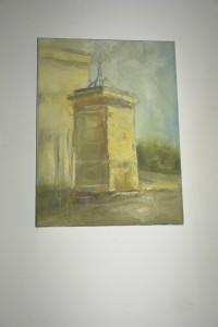 1. MAGDALENA NAHIRNY – Brama, pł. olej 40 x 30 cm, rok 2015, cena 170,- zł