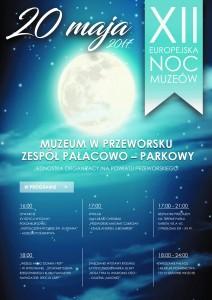 NOC MUZEUM 2017 plakat