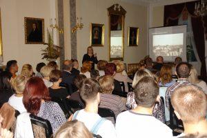 Życie codzienne w Przeworsku w czasie II wojny światowej – wykład mgr Małgorzaty Wołoszyn